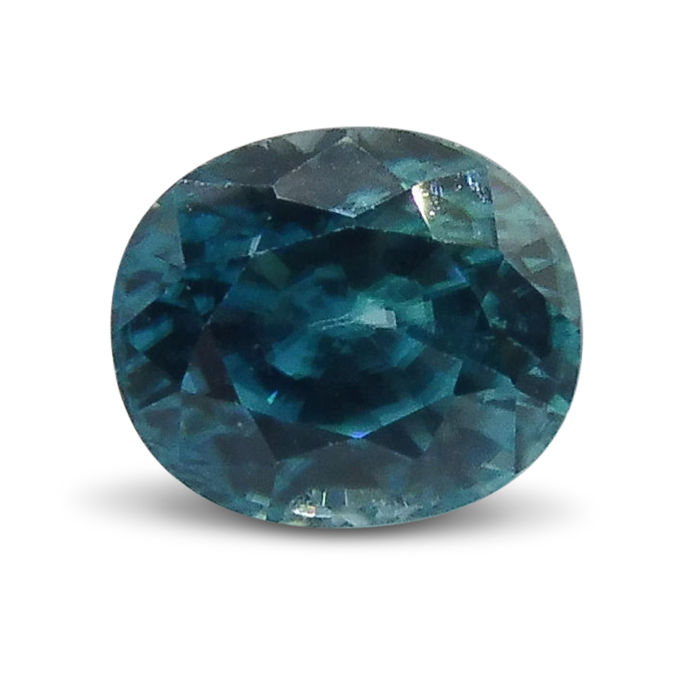 Blue Zircon - 2.92 ct
