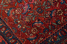 Authentic Persian rug – Original Bidjar (dimensions: 600 x 400 cm) – With Certificate of Authenticity signed by official appraiser – (Galleria Farah 1970)