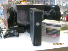 Nice Xbox360 -250gb-  incl 10 good games and Original 360 Vault.