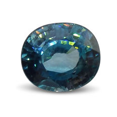 Blue Zircon - 3.19 ct