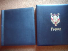 2 albums with collection of France 1860-1972