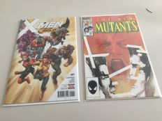 X-men gold 1 + The new Mutants 26 - 2x sc - Schandaal issue + First appearance Legion