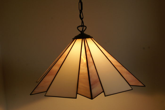 Tiffany Style Pendant Lamp Stained Glass Catawiki
