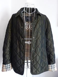Burberry beetle green quilted jacket *NO RESERVE*
