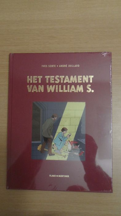Blake en Mortimer 20 - Het testament van William S - luxe linnen hc (2016)