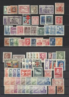Spain 1855/1938 – Set with complete series – Spain.