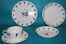 "Air France CONCORDE table service 30 pieces ""porcelaine"""
