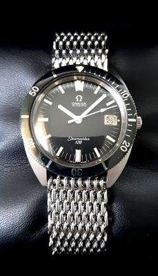 Omega Seamaster 120 Automatic Date – 166.027 – 38 mm (without the crown), men's watch from around 1966.