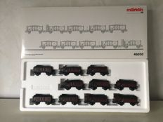 Märklin H0 - 46030 - Coal train set with 10 loaded gondolas