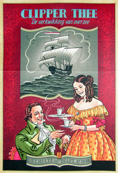 Anonymous - Clipper thee, de verkwkking van overzee - ca. 1930