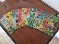 Donald Duck Weekblad - 16 issues - sc - 1st edition (1953)