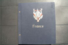 France 1860/1980 - Collection mounted in 1 Album DAVO