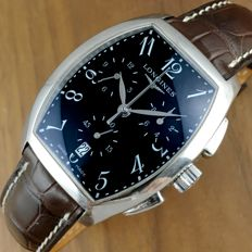 Longines — Longines Evidenza Chronograph L2.656 Men´s Watch Full Set — Hombre
