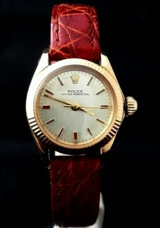 Rolex Vintage Oyster Perpetual Lady Gold 6619 - 1968