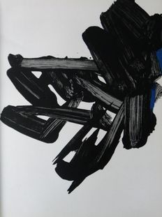 Pierre Soulages and André Masson - Compositions (two lithographs)