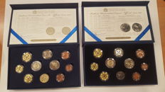 Malta – Year Set of none coins plus one medal, 2011 and 2013