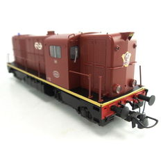 Roco H0-62795 - Diesel-electric locomotive, Series 2200 of the NS, no 2456 brown with NS logo