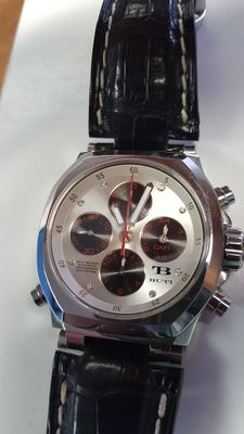 TB Buti Limited Edition No. 57 of 250 Galileo Split Second Rattrapante Swiss Chronograph Men's Wristwatch