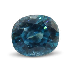 Blue Zircon - 2.98 ct