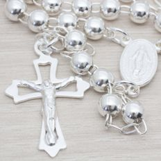 Sterling silver 925 - Rosary - Length 50