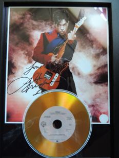 Stunning Prince - Litle Red Covette - Signed Autograph( in print )Cd   - Very Nice - Framed