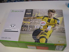 Special white Boxed X-box one edition 500 gb+fifa 2017