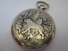 USSR vintage Molnija pocket watch in excellent condition