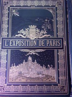 L'exposition de Paris 1900 - 3 volumes - 1900