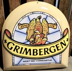 Grimbergen enamel sign from the 1990s