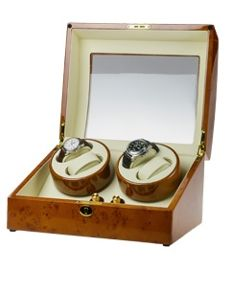 Premium watch winder for four automatic and six quartz watches