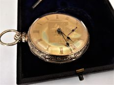 Cooper & co, Liverpool.--- pocket watch --- circa 1850. ref no 61a.