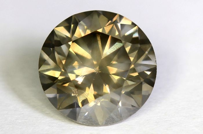 Diamond – 1.18 ct – Fancy Brownish Grey – SI1