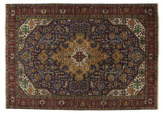 ANTIQUE genuine Persian Tabriz rug - HAND-KNOTTED - TABRIZ, PERSIA / IRAN - 285 x 200 cm - Era: 1940-1950 - With certificate of authenticity from an official appraiser (Galleriafarah 1970).