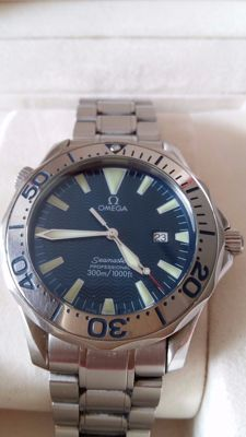 Omega Seamaster 300m/1000ft  Year 2002