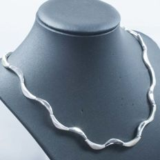 Necklace in .925 silver with Italian design – 45 cm