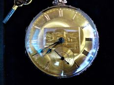 Cooper & co, Liverpool.--- pocket watch --- .ref no 61 —  ca 1850