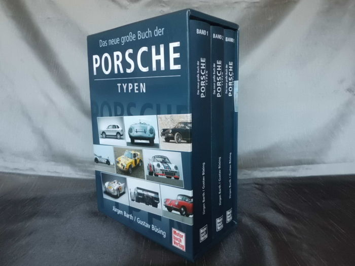 The new big book of Porsche types. 1. 2005 Edition