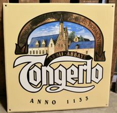 Tongerlo enamel sign from the 1990s