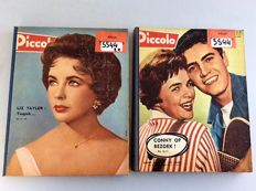 Pin-up; Lot with 30 issues of Piccolo bound in 2 sets-1960