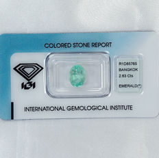 Emerald – 2.63 ct No Reserve Price