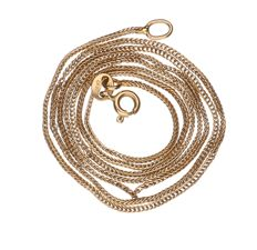 Necklace, 18 kt Yellow Gold – 55 cm
