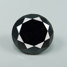Black Diamond – 2.19 ct - No reserve