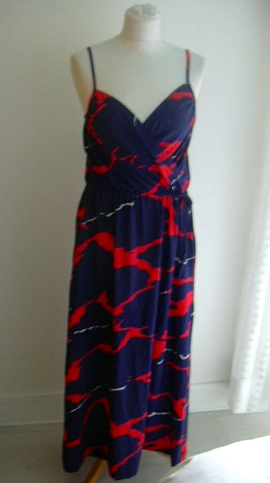 f38e201f3c0 Christian Dior Navy Blue Dress