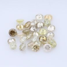 30 Round Brilliant Diamonds – 0.43 ct.  - no reserve price