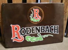 Rodenbach Emaille bord Jaren '90