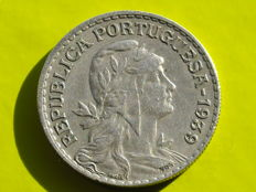 Portugal – 1 Escudo – 1939 – Difficult to find in this condition
