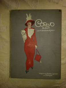 "MARCELLO DUDOVICH - ""Album Corso"" - original 1910 works - 32 colour plates - Art Nouveau - Jugendstil - Art Deco"