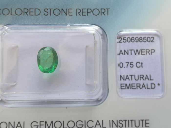 Emerald – 0.75 ct – no reserve