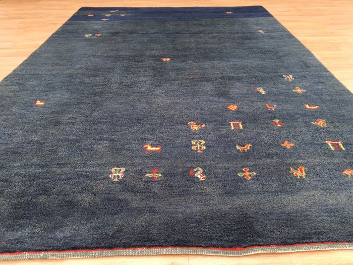 Hard-wearing handwoven GABBEH - approx. 299 x 203cm - 21st century