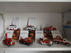 Matchbox - Scale 1/43 - Lot with 7 models: 3 x Fire Department and 4 x Texaco models
